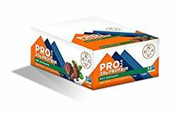 Box of Pro bar Protein Bars
