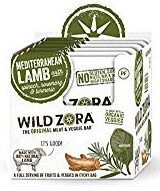 A box of Wild Zara Meat and Veggie bars, one of the cleanest protein bars available.