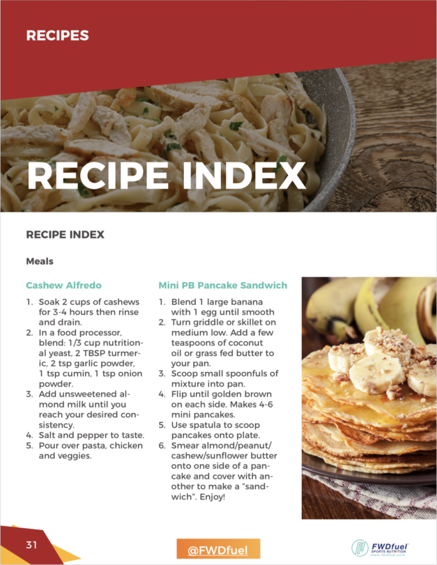 Recipes for Gaining Weight Meal Plans