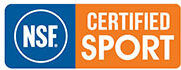NSF Certified for Sport logo which is often found with some of the top nutritional supplement brands in the world