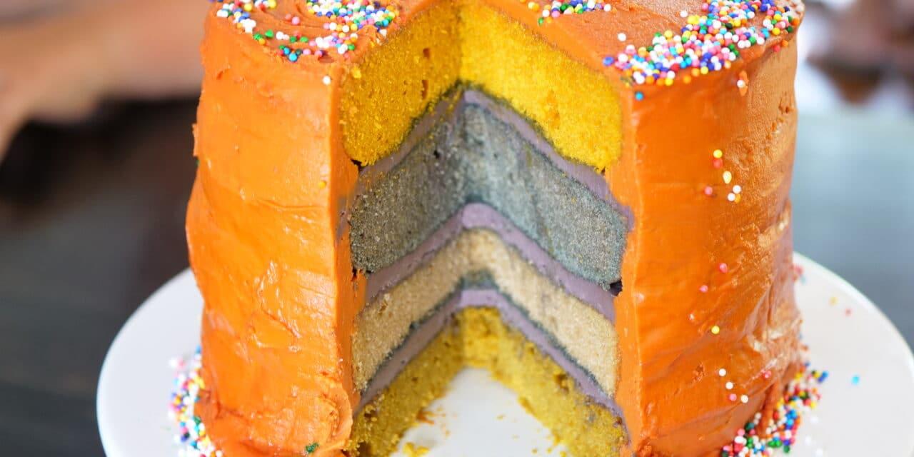 Clean Irresistibly Tasty Cake – Birthday Style