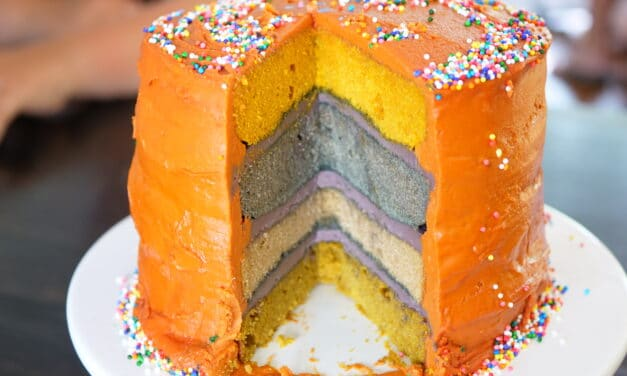 Clean Cake – Birthday Style