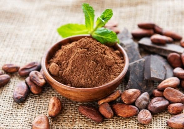 Raw cacao to be used for an anti-inflammatory smoothie